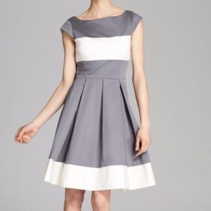 Kate spade gray and white dress